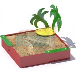 """Песочница """"Пальма"""""""