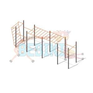 Спортивный комплекс Workout W011